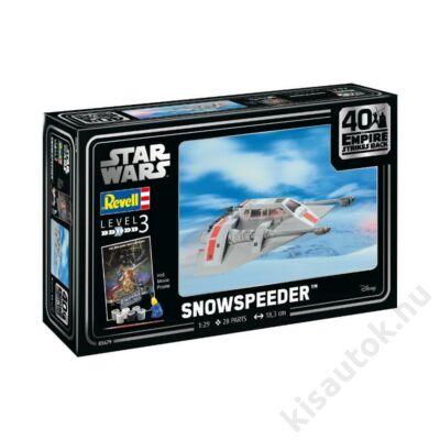 Revell 1:29 Snowspeeder 40th Anniversary The Empire strikes back Gift SET Star Wars makett