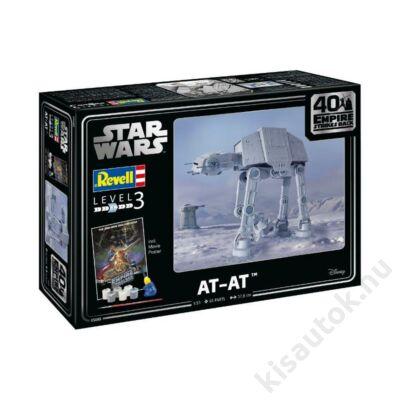 Revell 1:53 Star Wars AT-AT 40th Anniversary The Empire strikes back Gift SET