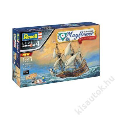 Revell 1:83 Mayflower 1620-2020 400th Anniversary Gift SET hajó makett