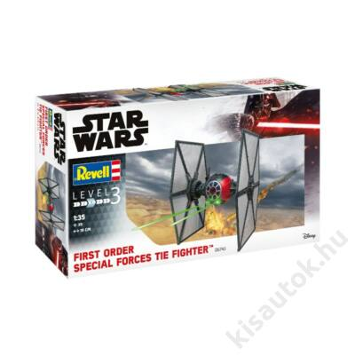 Revell 1:35 First Order Special Forces Tie Fighter Star Wars makett