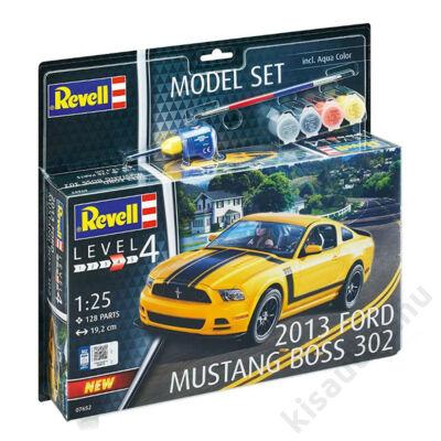 Revell 1:25 2013 Ford Mustang Boss 302 SET makett autó