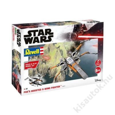 Revell 1:78 Poe's Boosted X-Wing Fighter Build and Play Star Wars makett