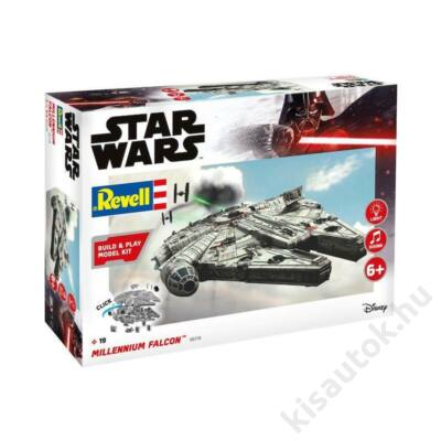 Revell 1:164 Millenium Falcon Build and Play Star Wars makett