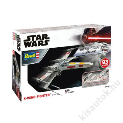 Revell 1:29 Star Wars X-Wing Fighter Easy-Click