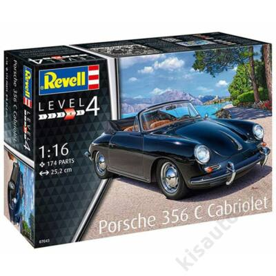Revell 1:16 Porsche 356 C Cabriolet