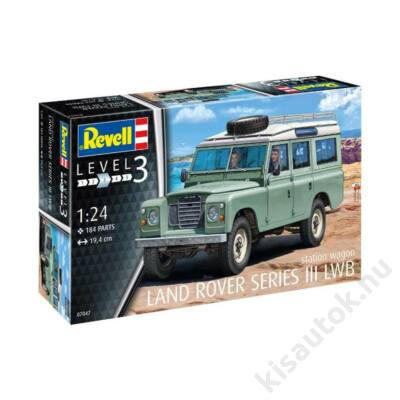Revell 1:24 Land Rover Series III LWB station wagon