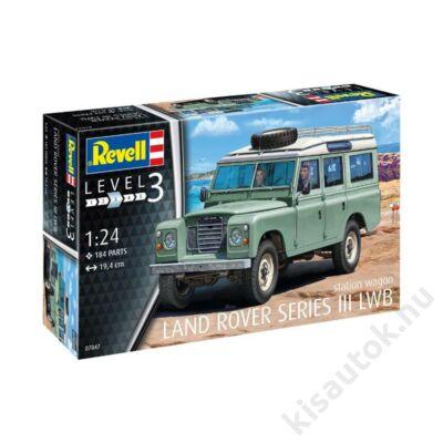 Revell 1:24 Land Rover Series III LWB station wagon autó makett