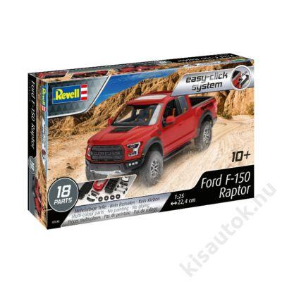 Revell 1:25 2017 Ford F-150 Raptor Easy-Click autó makett
