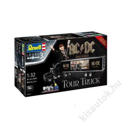 Revell 1:32 AC/DC Rock or Bust Tour Truck Limited Edition Gift SET kamion makett