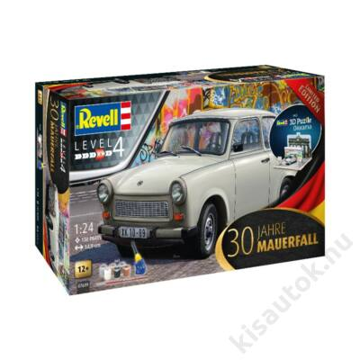 """Revell 1:24 Trabant 601 30th Anniversary """"Fall of the Berlin Wall"""" SET"""