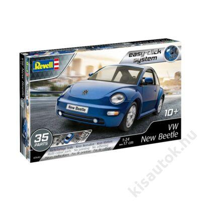 Revell 1:24 VW New Beetle Easy-Click autó makett