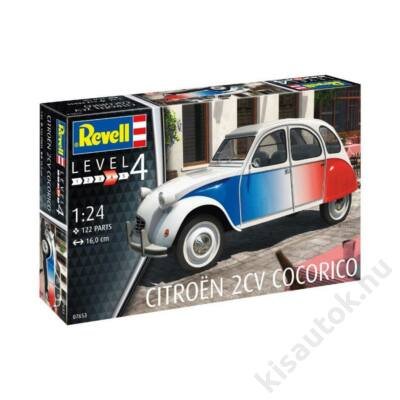 Revell 1:24 Citroen 2CV Cocorico autó makett