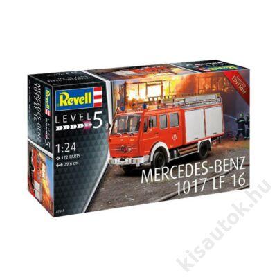 Revell 1:24 Mercedes-Benz 1017 LF 16 Limited Edition tűzoltó makett