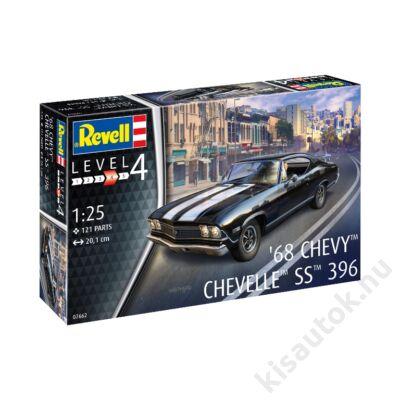 Revell 1:25 '68 Chevy Chevelle SS 396 autó makett
