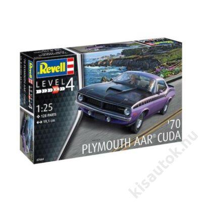 Revell 1:25 '70 Plymouth AAR Cuda autó makett