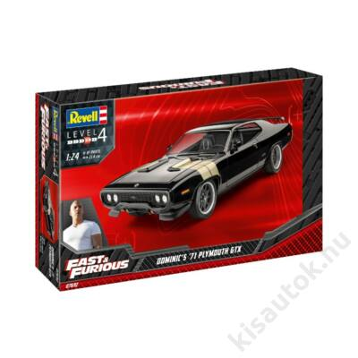 Revell 1:24 Fast & Furious Dominic's '71 Plymouth GTX