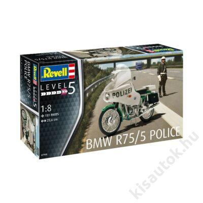 Revell 1:8 BMW R75/5 Police motor makett