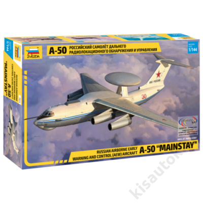 """Zvezda 1:144 Russian Airborne Early Warning and Control (AEW) Aircraft A-50 """"Mainstay"""""""