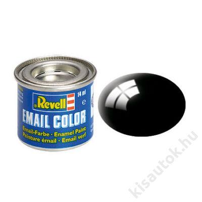 Revell 007 Fekete RAL 9005 fényes festék makett festék