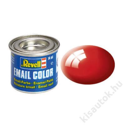 Revell 031 Tűzpiros RAL 3000 fényes festék makett festék