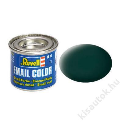Revell 040 Fekete-zöld matt festék makett festék