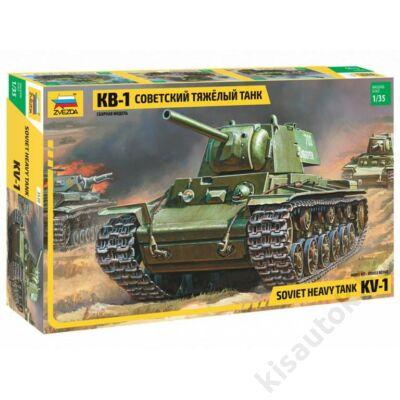Zvezda 1:35 Soviet Heavy Tank KV-1