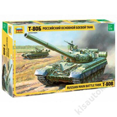 Zvezda 1:35 Russian Main Battle Tank T-80B