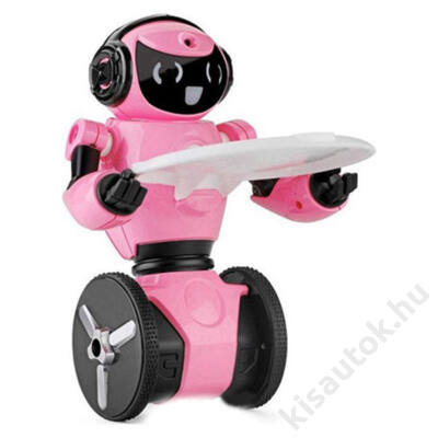 WLtoys F1 táncoló zenélő egyensúlyozó robot rózsaszín