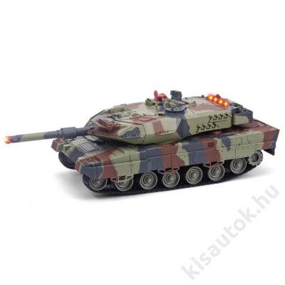 UNI-FUN Leopard 2 1/24 távirányítós német tank - infra lövés olajzöld