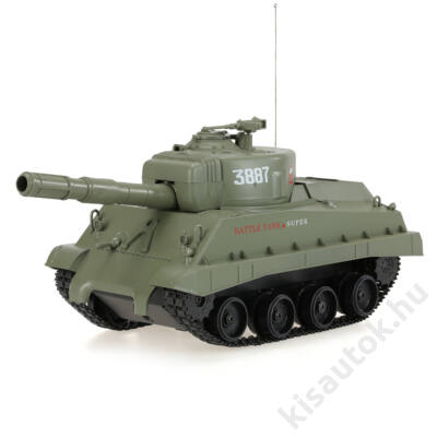Heng Long amerikai stílusú műanyag lövedékes harckocsi 1/30