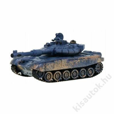 ZEGAN T90 távirányítós tank infra lövéssel 1/28 szürke