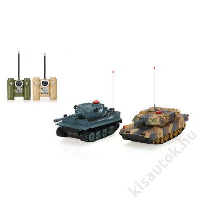 UNI-FUN Tank csata szett M1A2 Abrams - Tiger 1 ellen infra lövéssel 1/32