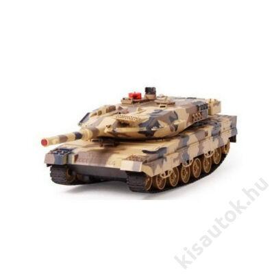 UNI-FUN Leopard 2 1/24 távirányítós német tank - infra lövés, sivatagi