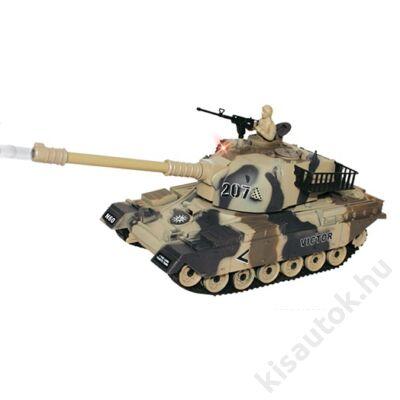 YHToys M60 Patton műanyaglövedékes távirányítós tank 28cm-es sivatagi