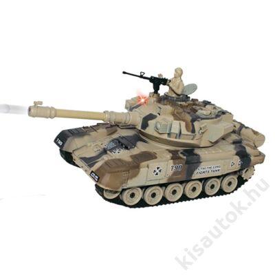 YHToys T90 műanyaglövedékes távirányítós tank 28cm-es sivatagi