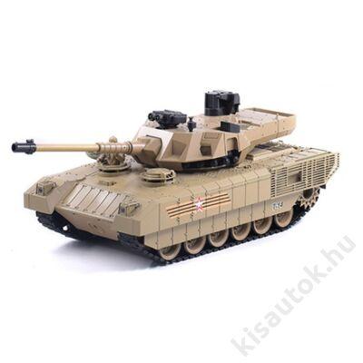 YHToys Armata műanyaglövedékes távirányítós tank 42cm-es homokszínű