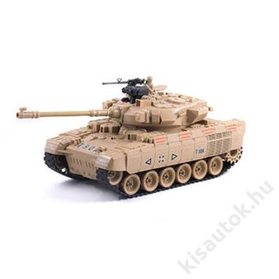 YHToys T90A műanyaglövedékes távirányítós tank 42cm-es homokszínű