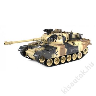 YHToys T90 orosz műanyaglövedékes távirányítós tank 43cm-es sivatagi