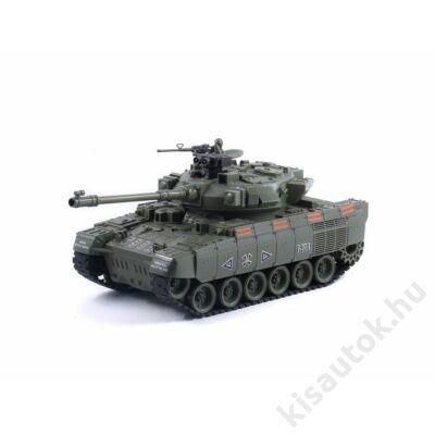 YHToys T90A műanyaglövedékes távirányítós tank 42cm-es olajzöld