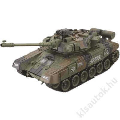 YHToys T90 orosz műanyaglövedékes távirányítós tank 43cm-es olajzöld