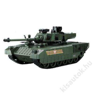 YHToys Armata műanyaglövedékes távirányítós tank 42cm-es olajzöld