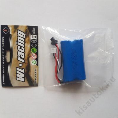 WLtoys 104310 távirányítós autó akkumulátor 7.4V 1200MAH