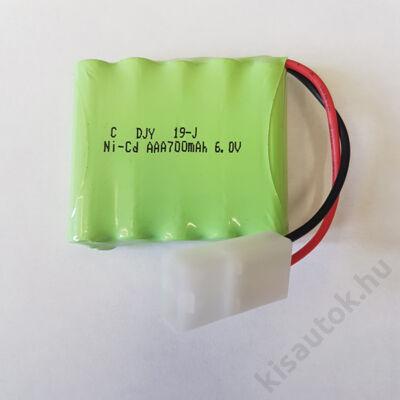 YHToys YH-4101D Akkumulátor 6V 700mAh Ni-CD