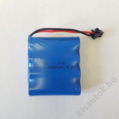 Subotech BG1503-05, BG1512, BG1516 Akkumulátor 4.8V 500mAh Ni-Cd