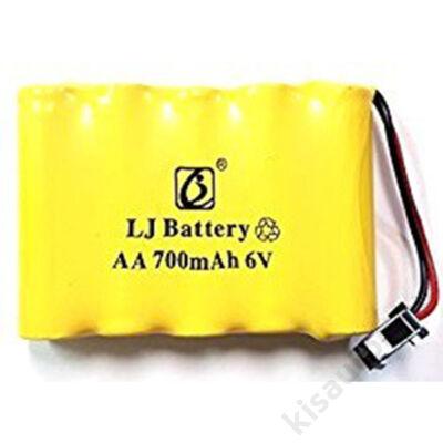 WPL B16, B24, C24 Akkumulátor 6V 700mAh Ni-Cd