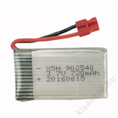Syma X5HW Akkumulátor 3.7V 720mAh Li-Po