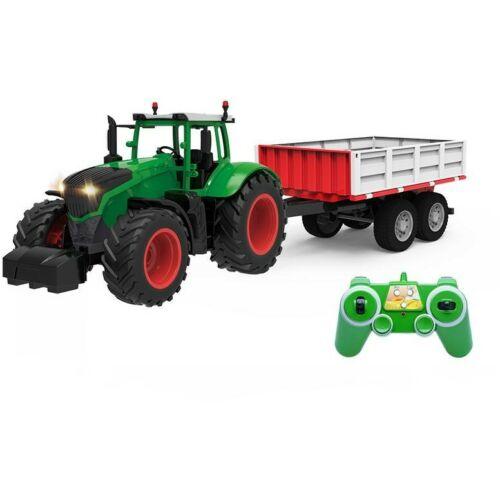 EE távirányítós óriás traktor utánfutóval 71cm-es