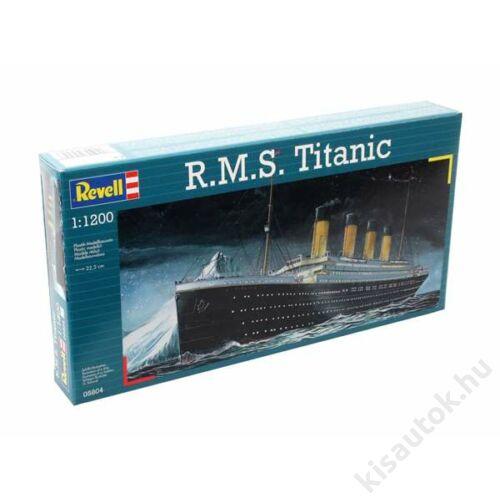 Revell 1:1200 R.M.S. Titanic hajó makett