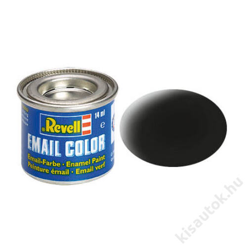 Revell 008 Fekete RAL 9011 matt festék makett festék